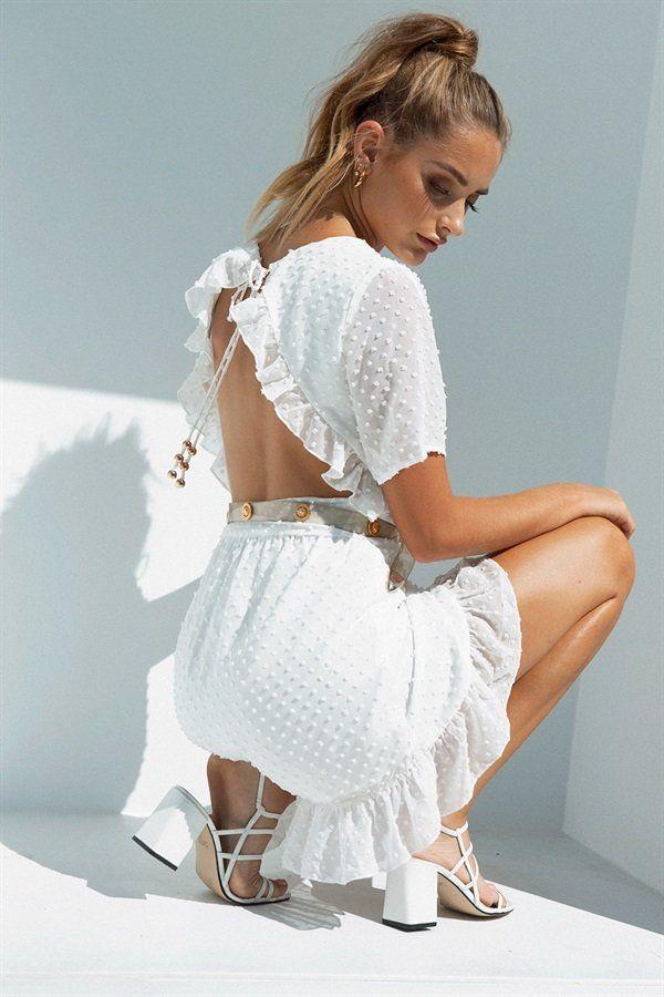a54a41bd103 Backless Ellery Dress  SaboSkirt