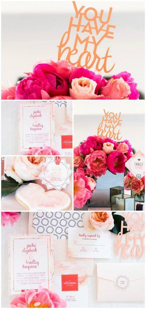 Diy wedding table decorations ideas   Sophisticated Handmade Wedding Ideas You Can Create With Cricut