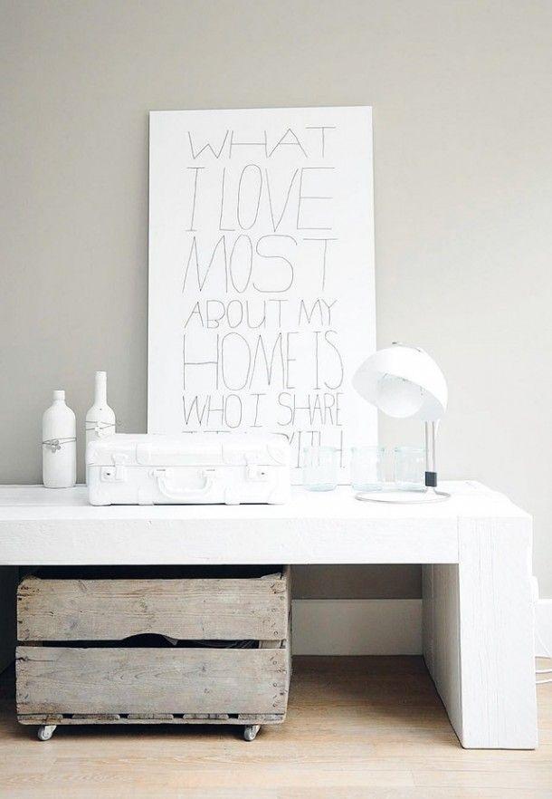tv meubel & leuke poster