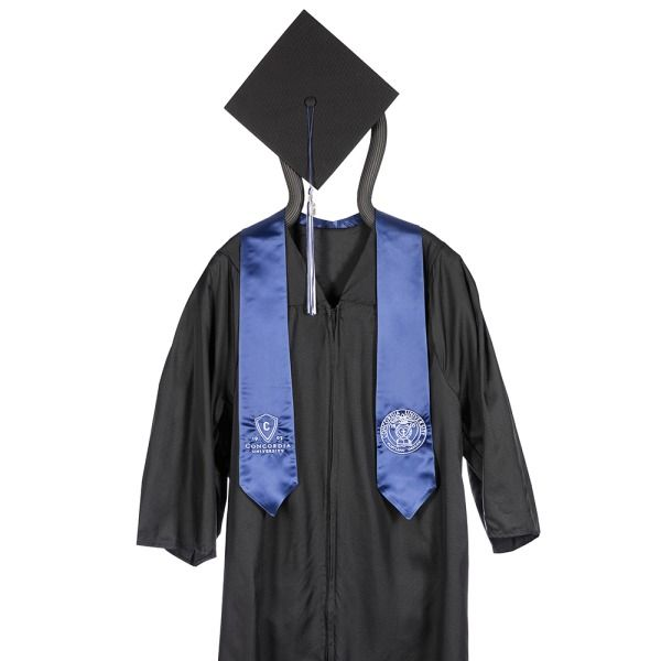 find concordia university portland or masters gown hood stole cap tassel wyeardate charm product at the official jostens school store
