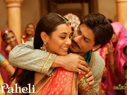 Shah Rukh Khan & Rani Mukherji in Paheli