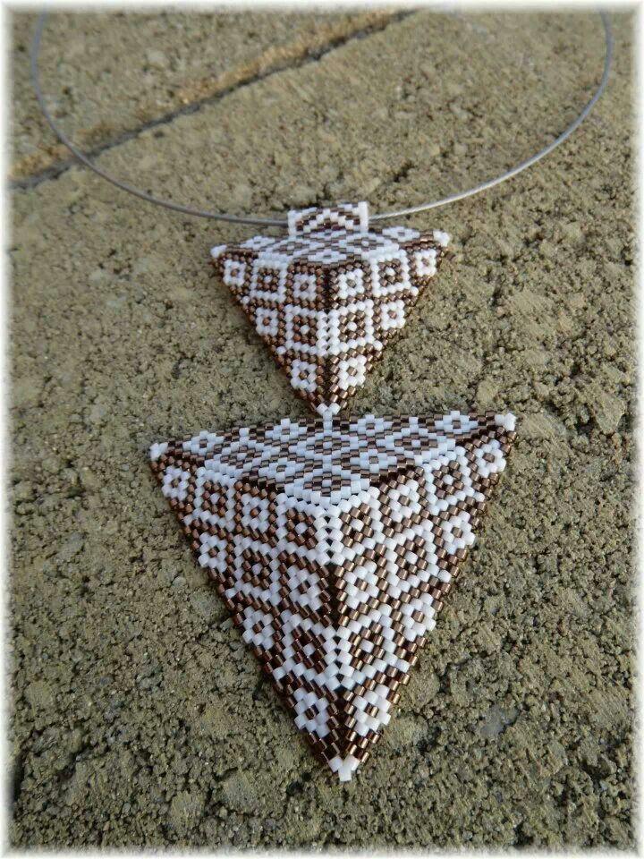 Triangle, beads