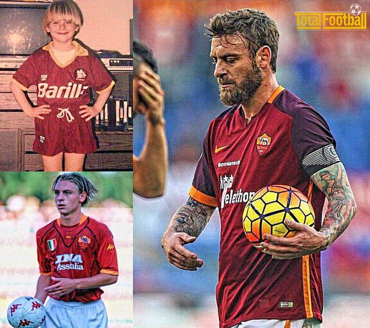 Daniele De Rossi   One club man, lived the dream.