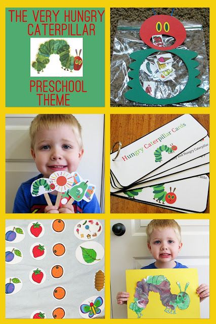 The Very Hungry Caterpillar Preschool Theme - Mommys Little Helper