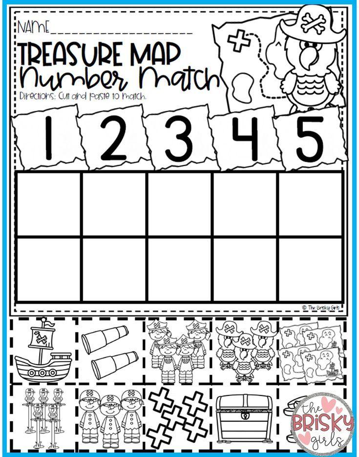 Back to School Kindergarten Math Numbers 0-20 ...