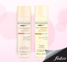 La leche corporal nutritiva nutre y suaviza tu piel, dejándola hidratada, flexible y perfumada con un delicado aroma. http://bit.ly/ByphasseFedco