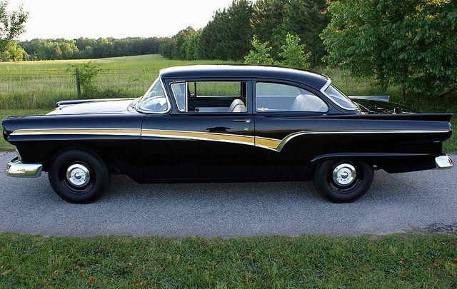 1957 Ford Custom 300 2 Door Sedan Ford Pinterest
