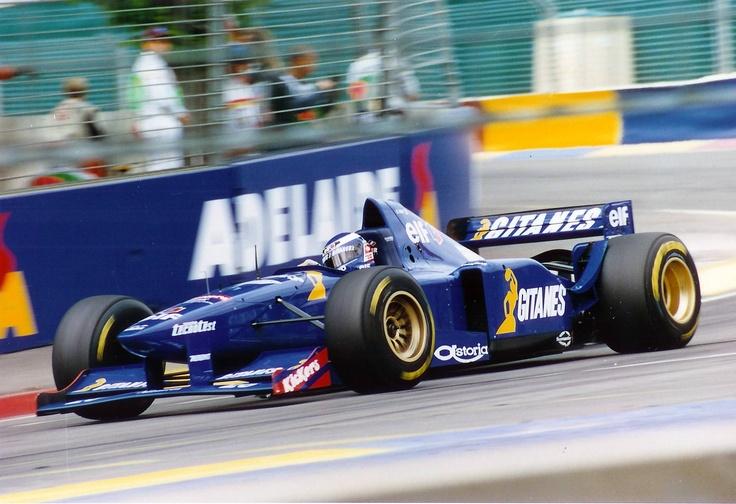 Olivier Panis - Ligier JS41 - 1995 Australian GP