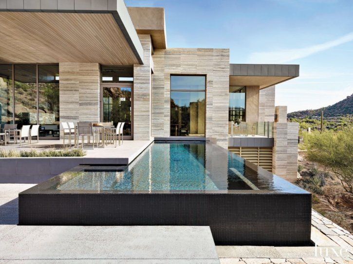 800 best images about modern houses on pinterest house for Infinity pool design
