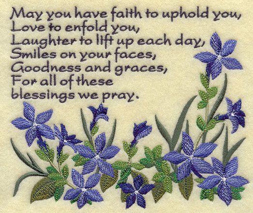 Irish prayer, so many wonderful ones
