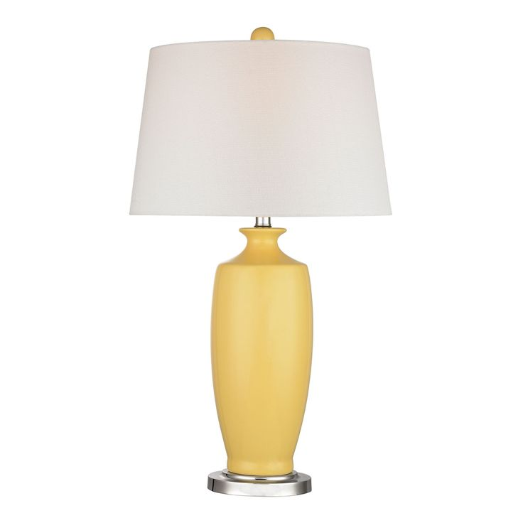 25+ best Yellow table lamps ideas on Pinterest | Yellow table ...