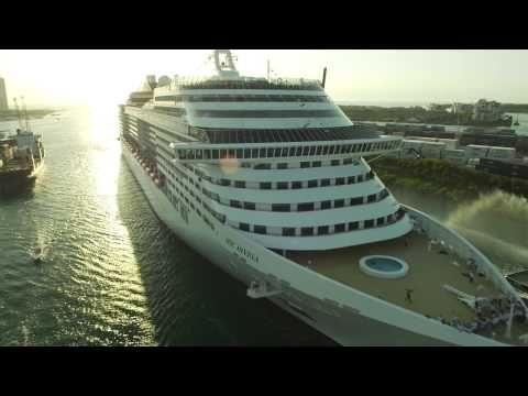 MSC Divina's Arrival to PortMiami