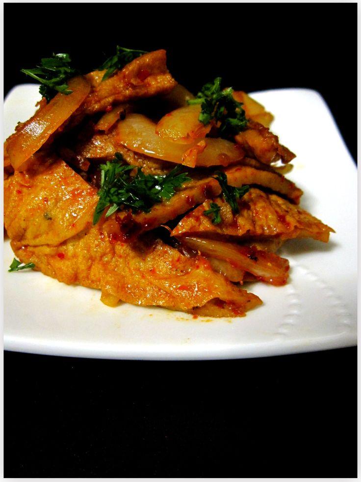 Korean spicy fish cake stir fry side offerings for Korean fish cake