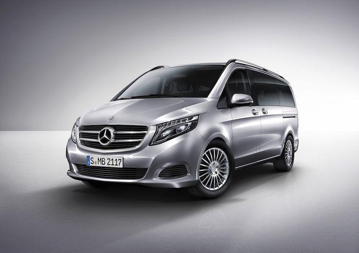 Für Tennisprofi Roger Federer ist die Mercedes-Benz V-Klasse das perfekte Familienauto