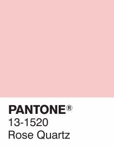 Pantone 2016 Color of the Year  #pantone2016 #pantone131520 #rosequartz @sophiekateloves