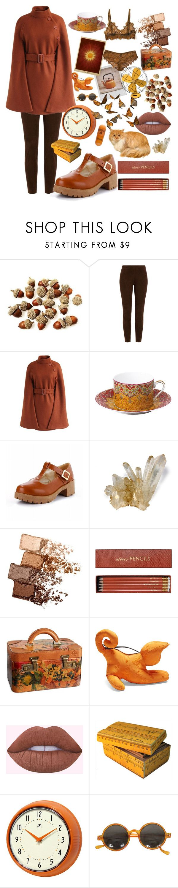 """""""Autumn Feeling"""" by nova-super ❤ liked on Polyvore featuring Polaroid, Ralph Lauren Black Label, Chicwish, Philippe Deshoulières, Bergdorf Goodman, Maybelline, Sloane Stationery, Patricia Nash, Loewe and Dessous"""