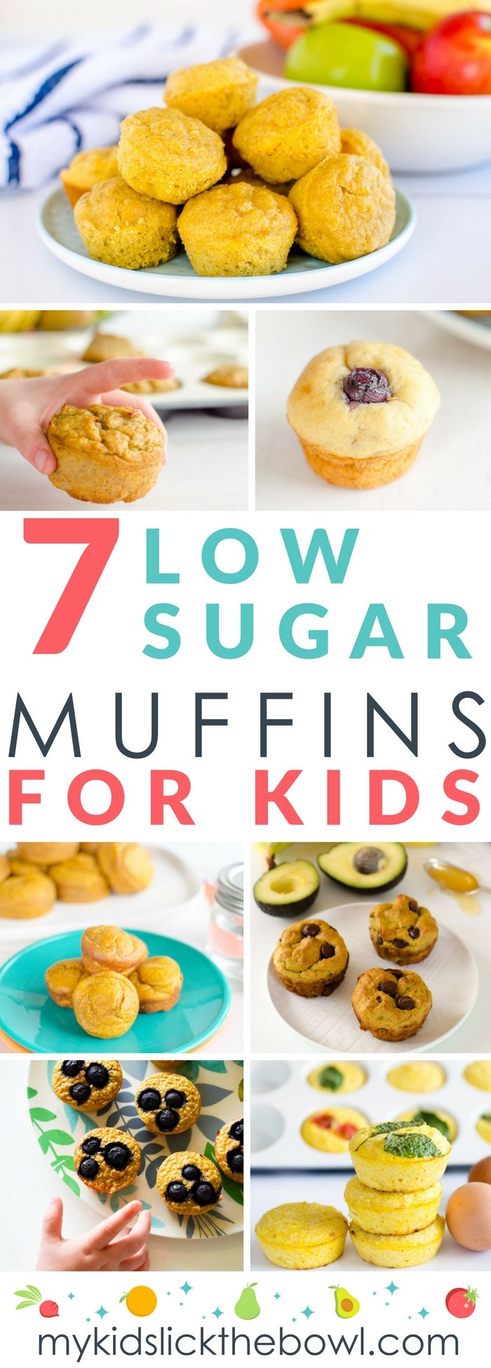 Low sugar muffins, 7 brilliant easy and healthy muffin recipes for kids with no or low added sugar