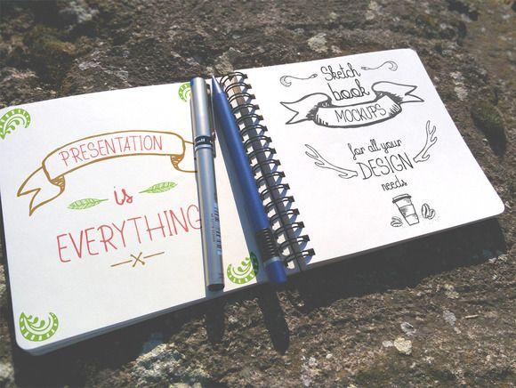 Check out Outdoor Sketchbook Mock-up by DIGITAVERN on Creative Market