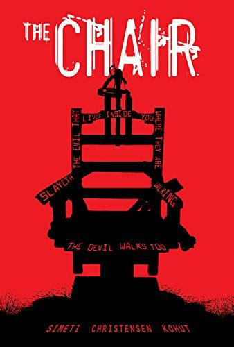 The CHAIR by Peter Simeti https://www.amazon.co.uk/dp/B01MDNFPJC/ref=cm_sw_r_pi_dp_x_S4E7ybK1GKEMK
