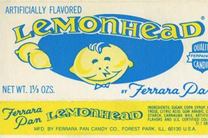 1962  Chicago's Ferrara Candy Company introduced these sour little orbs after founder Salvatore Ferrara noted the oblong shape of his grandson's head.    11 classic candies introduced in the 1960s