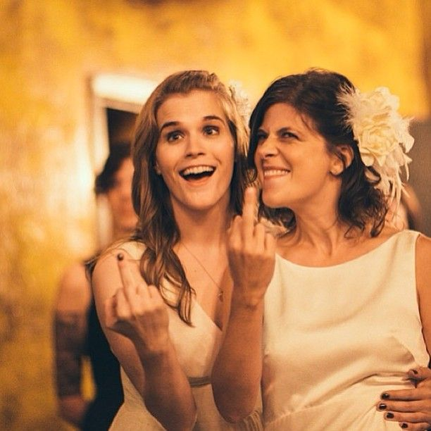Jenny Owen Youngs and Kristen Russo's wedding