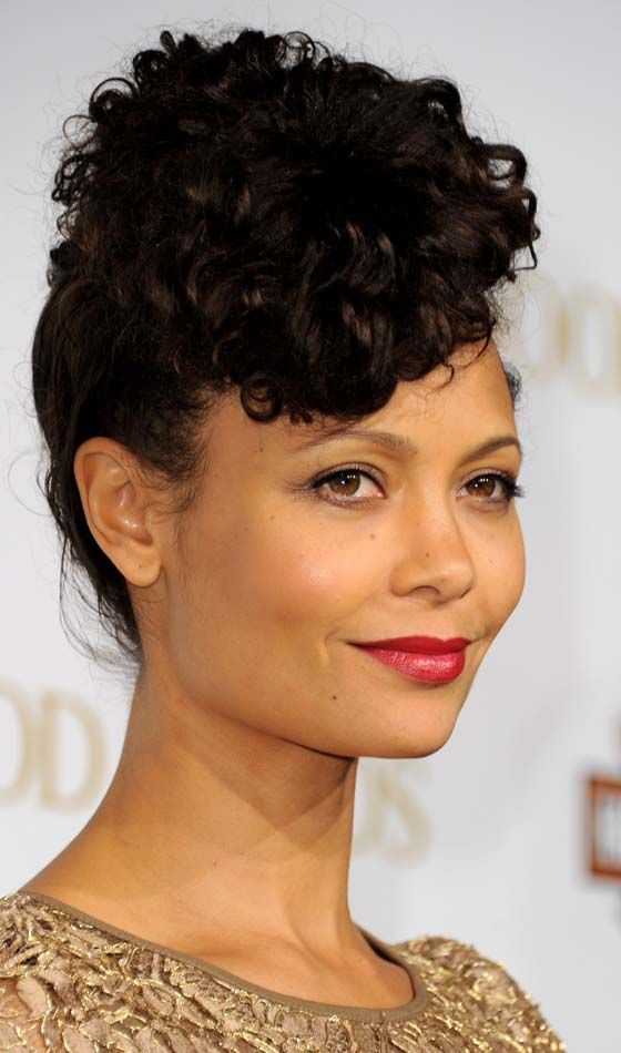 15 Glamorous Updos For Curly Hair
