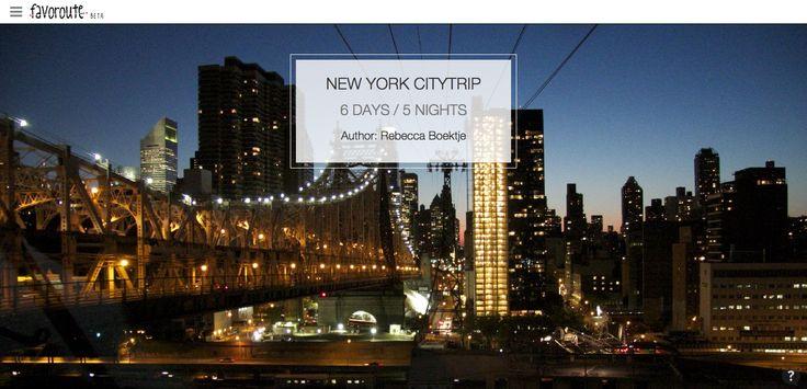 NEW YORK CITYTRIP by @MyTravelBoektje  http://www.peecho.com/print/en/70766