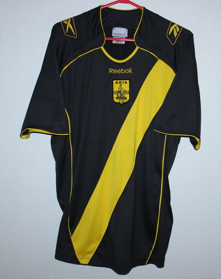 Aris FC Greece home shirt 09/10 Reebok