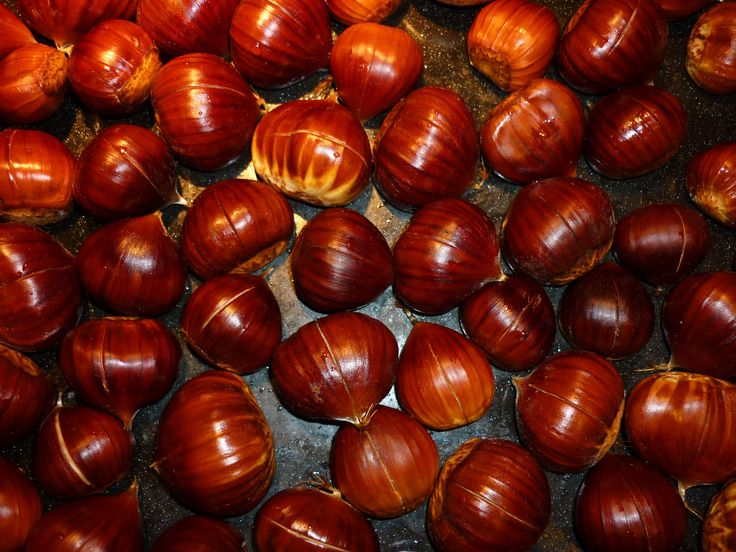 Baked Apples with Sweet Chestnuts