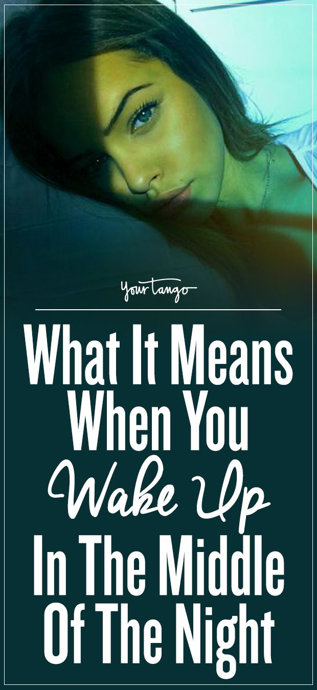 What It Means When You Wake Up In The Middle Of The Night | YourTango