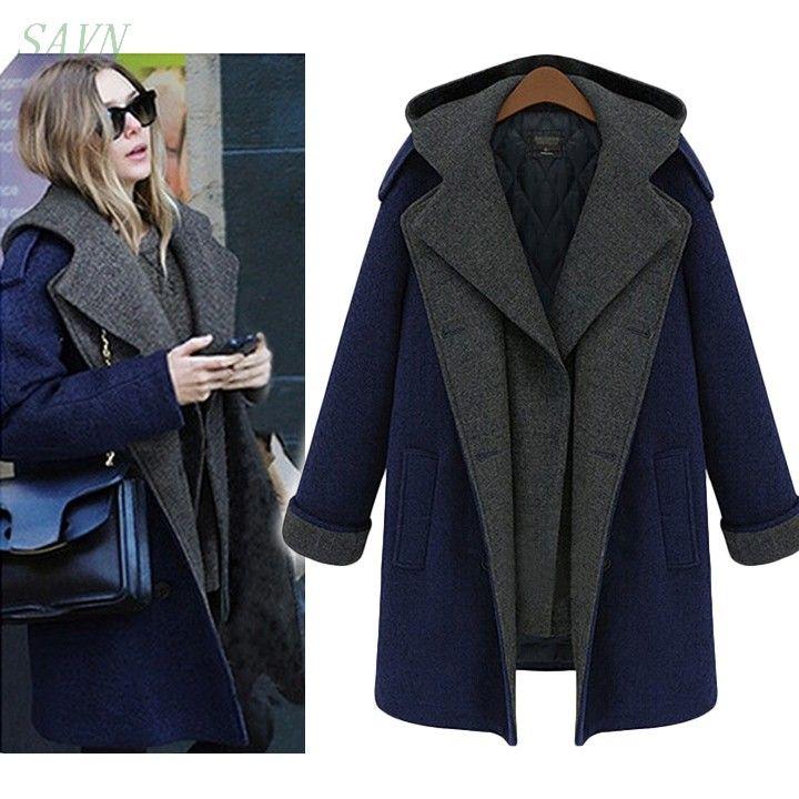 2015 дизайн новая коллекция весна / лето плащ женщины серый средней длины завышение теплый шерстяной жакет европейская мода пальто 10