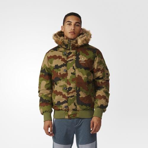 Camouflage Bomber Jacket - Multicolour