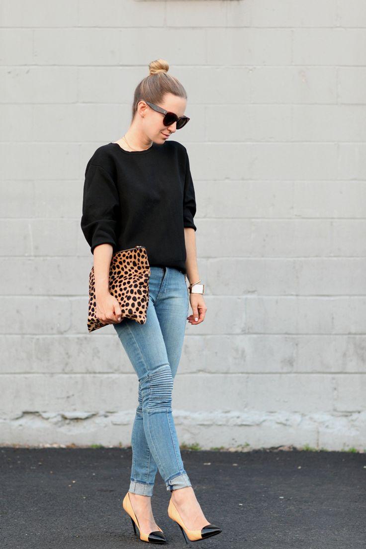 Hudson Jeans via Covet Fashion| Stackable Rings: Tuleste via Covet Fashion | Top: DKNY | Shoes:...