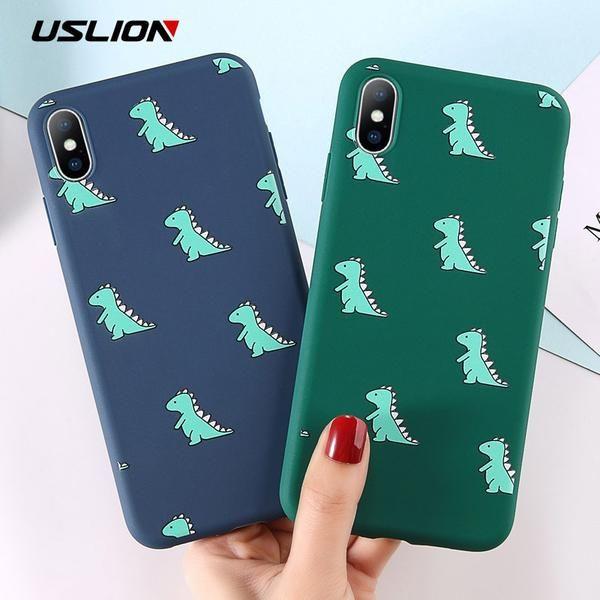 Cartoon Dinosaur Case For iphone 6 6s 7
