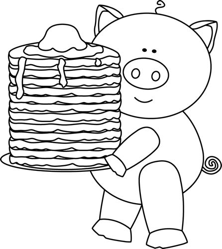 pigs in pajamas coloring pages - photo#14