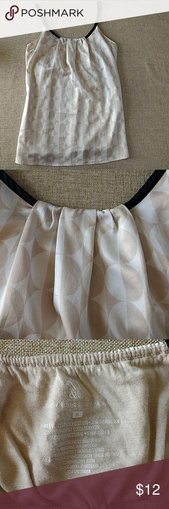 New York & Company camisole size medium Adorable camisole with shelf bra size small New York & Company Tops Camisoles