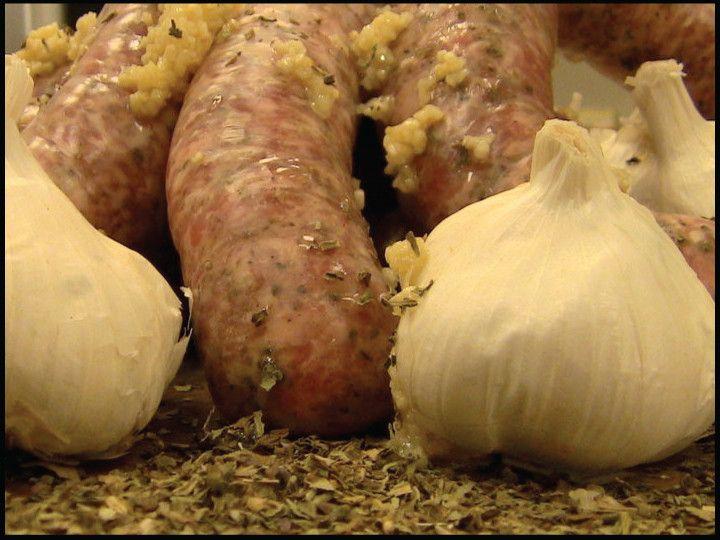 Garlic Basil Sausage
