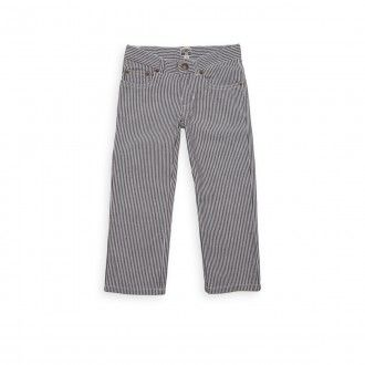 dragon striped trousers