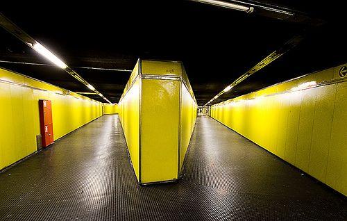 yellow line milano