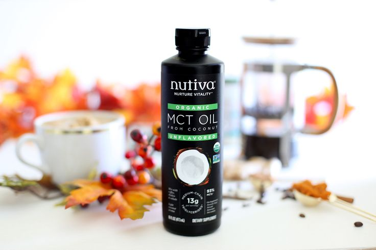 MCT Pumpkin Spiced Latte kitchen.nutiva.com Nutiva Organic #MCT Oil #psl #MCToil
