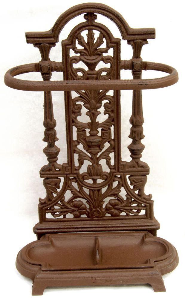 Vintage Cast Iron Ornate Brolly/Umbrella/Walking Stick Stand For Home/Office