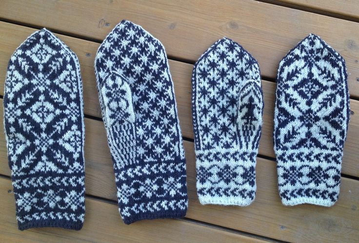 Wedding mittens by Sigrid Kristiane, Norway. #mittenS:-)