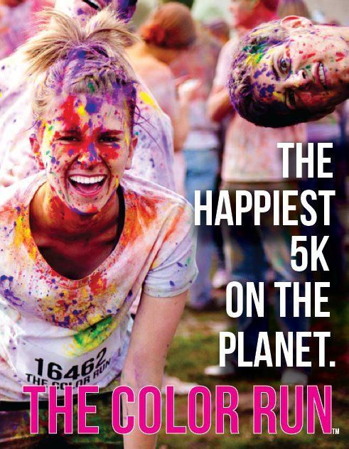 The Color Run    I AM GOING TO DO THIS....