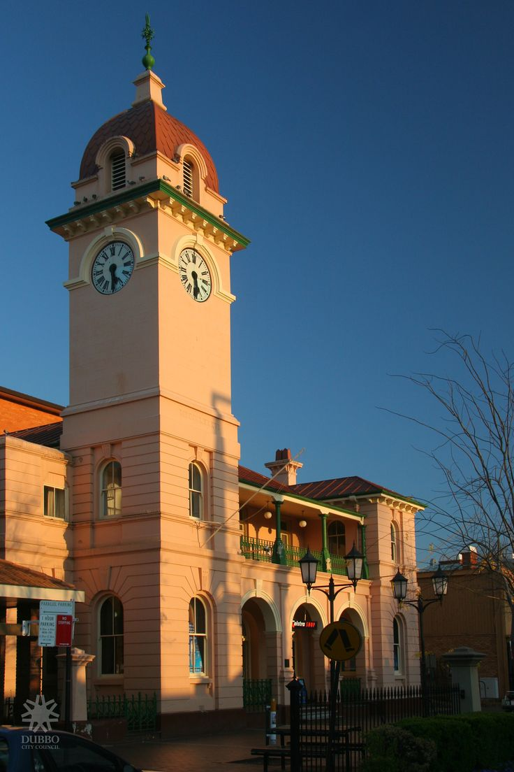 Post Office,Dubbo Clock Tower, NSW, Australia