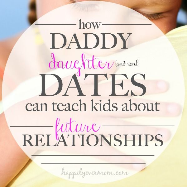 Dads daughters and dating