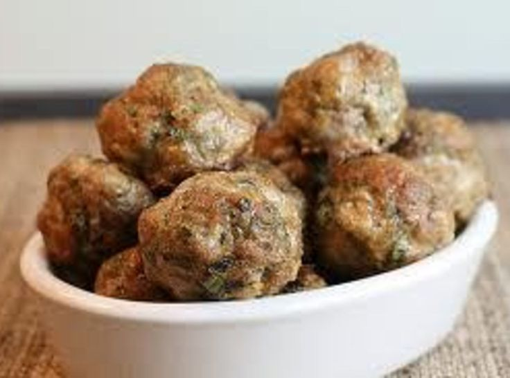 My son was eating these and noticed his sister who is a vegetarian grab one and pop it in her mouth..He looks at me and says *this isnt Meat? Nope, not even close. Yum!| Tofu *Meatballs (meatless) (Vegetarian)