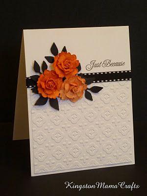 CAS flower card - bjl