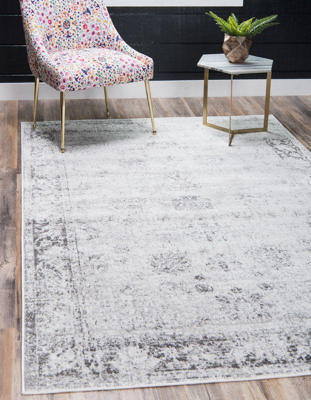 Brandt Floral Gray Area Rug Area Rugs Unique Loom Grey Area Rug