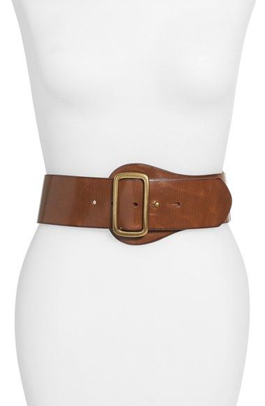 Steven by Steve Madden Leather Belt available at #Nordstrom