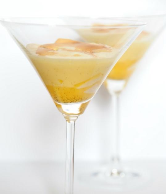 Mango zabayone